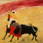 lefflertanbullfight