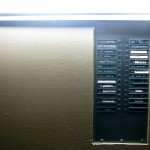 Apartment entryway buzzers