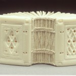Carved Elk Bone Book
