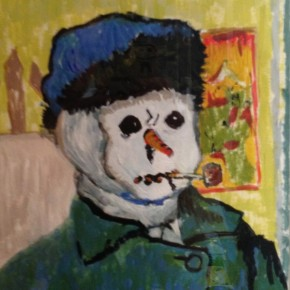 Crowdsourcing Van Gogh Snowman
