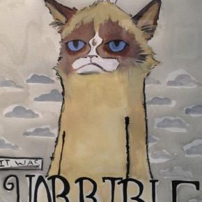 LOLcat Grumpy Cat