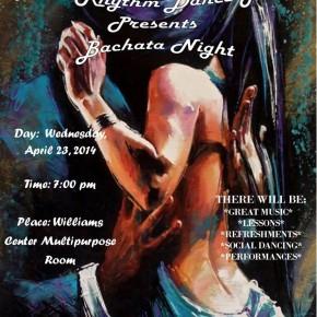Flyer announcing a salsa event