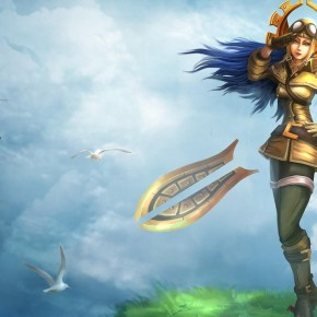 Irelia, a Believeable Female Character Photo: League of Legends website