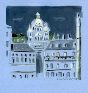 Portrait of Paris' Sacre-Couer