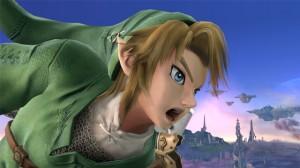Video game character Zelda yelling