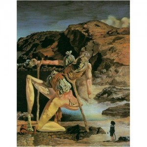 Salvador Dali's The Specter of Sex Appeal, from http://www.3d-dali.com/Tour/sexappeal.htm