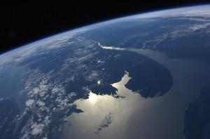 Photo from astronaut Ron Garan