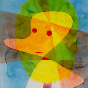 Paul Klee's Small Garden Ghost