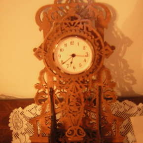 Jim Beebe (Joan's husband's) clock.
