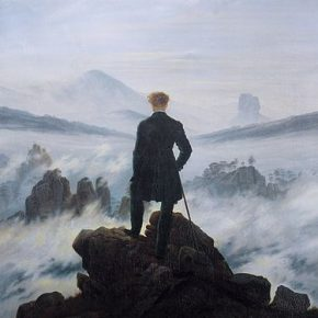 Caspar David Friedrich's Wanderer above the Sea of Fog