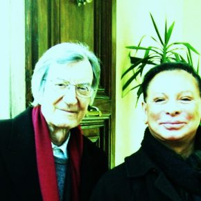 Maestro Carlo Lizzani & Count Federico Wardal, best cinema & best theatre together