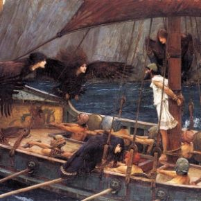 'Odysseus and the Sirens' by Waterhouse