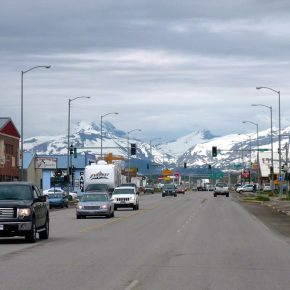 downtown-browning-with-mountains-in-the-background-in-montana