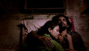 "(Still from ""Sunetra - The Pretty Eyed Girl"" featuring Indian actors Sreeram Mohan and Nina Chakraborty)"