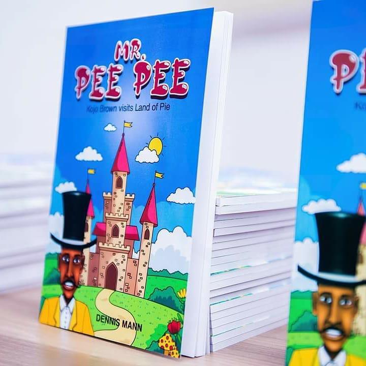 Stack of Mr. Pee Pee books.